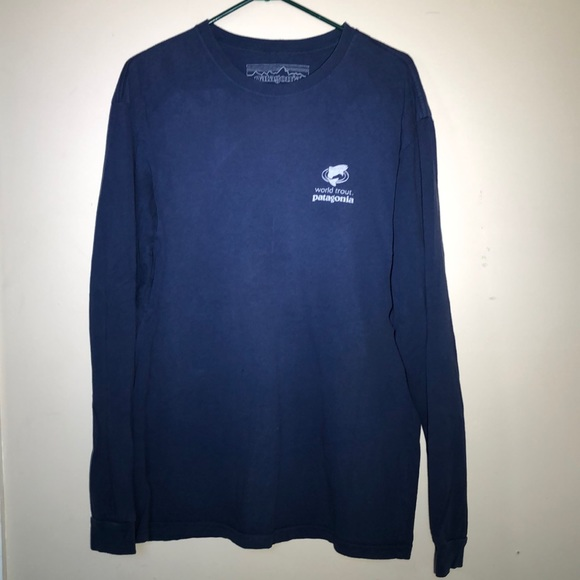 Patagonia Other - Vintage Patagonia World Trout Long Sleeve Tee